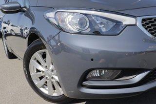 2015 Kia Cerato YD MY15 S Premium Planet Blue 6 Speed Sports Automatic Sedan.