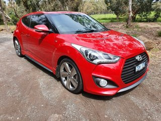 2013 Hyundai Veloster FS2 SR Turbo Red Sports Automatic Hatchback.