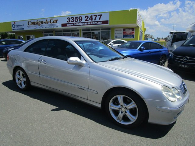 Used Mercedes-Benz CLK320 C209 , 2007 Mercedes-Benz CLK320 C209 Silver Automatic Coupe