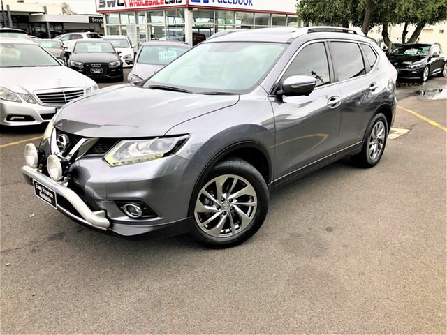 Used Nissan X-Trail T32 Ti X-tronic 4WD, 2015 Nissan X-Trail T32 Ti X-tronic 4WD Silver 7 Speed Constant Variable Wagon