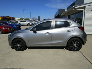 2014 Mazda 2 DJ2HA6 Neo SKYACTIV-MT Silver 6 Speed Manual Hatchback.