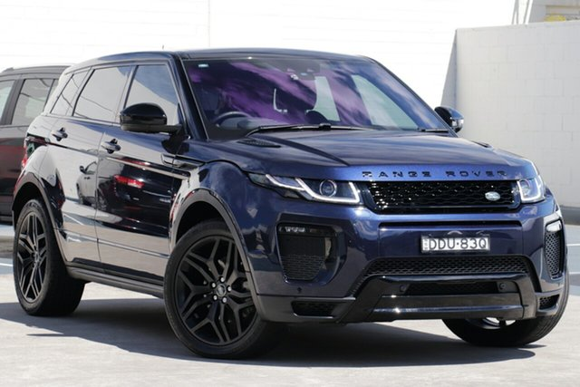 Used Land Rover Range Rover Evoque L538 MY16.5 HSE Dynamic, 2016 Land Rover Range Rover Evoque L538 MY16.5 HSE Dynamic Blue 9 Speed Sports Automatic Wagon