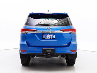 2016 Toyota Fortuner GUN156R Crusade Blue 6 Speed Automatic Wagon