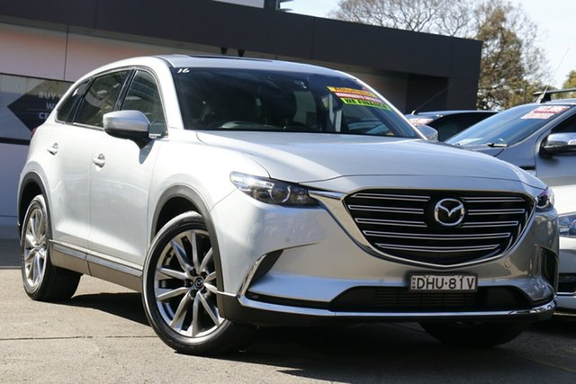 Used Mazda CX-9 TC GT SKYACTIV-Drive i-ACTIV AWD Homebush, 2016 Mazda CX-9 TC GT SKYACTIV-Drive i-ACTIV AWD Silver 6 Speed Sports Automatic Wagon