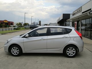 2014 Hyundai Accent RB2 Active Silver 4 Speed Sports Automatic Hatchback.