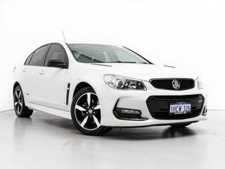 2016 Holden Commodore Vfii MY16 SS Black Edition White 6 Speed Automatic Sedan.