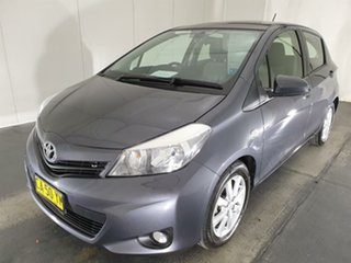 2014 Toyota Yaris NCP131R YRX Grey 4 Speed Automatic Hatchback.