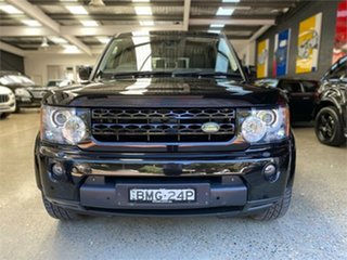 2009 Land Rover Discovery 4 Series 4 V8 Santorini Black Sports Automatic Wagon