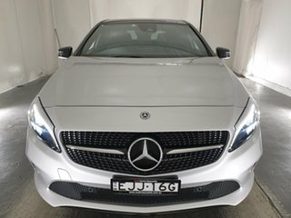 2018 Mercedes-Benz A-Class W176 808+058MY A180 D-CT Silver 7 Speed Sports Automatic Dual Clutch.