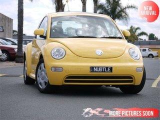 2000 Volkswagen Beetle 9C Sunshine Yellow 5 Speed Manual Liftback.