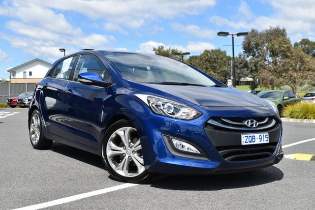 Used Hyundai i30 GD Premium, 2013 Hyundai i30 GD Premium Blue 6 Speed Sports Automatic Hatchback