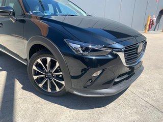 2020 Mazda CX-3 DK2W7A Akari SKYACTIV-Drive FWD Jet Black 6 Speed Sports Automatic Wagon.