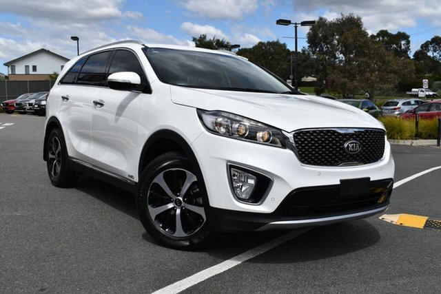 Used Kia Sorento UM MY17 SLi AWD, 2016 Kia Sorento UM MY17 SLi AWD White 6 Speed Sports Automatic Wagon