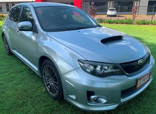 2012 Subaru Impreza G3 MY12 WRX AWD Silver 5 Speed Manual Hatchback.