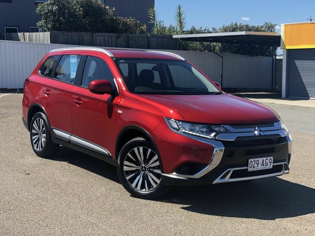 Used Mitsubishi Outlander ZL MY19 ES AWD Chermside, 2019 Mitsubishi Outlander ZL MY19 ES AWD Red 6 Speed Constant Variable Wagon