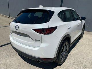 2020 Mazda CX-5 KF4W2A Akera SKYACTIV-Drive i-ACTIV AWD Snowflake White 6 Speed Sports Automatic