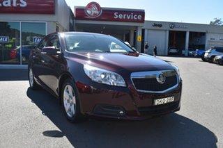 2016 Holden Malibu V300 MY15 CD Burgundy 6 Speed Sports Automatic Sedan.