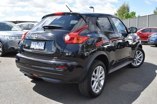 2014 Nissan Juke F15 MY14 ST 2WD Black 1 Speed Constant Variable Hatchback