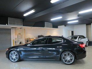 2016 Maserati Ghibli M157 MY16 Black 8 Speed Sports Automatic Sedan