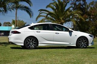 2018 Holden Commodore ZB MY18 RS Liftback AWD White 9 Speed Sports Automatic Liftback