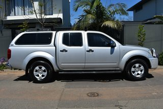2006 Nissan Navara D40 ST-X Silver 6 Speed Manual Utility