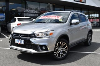 2019 Mitsubishi ASX XC MY19 LS 2WD Sterling Silver/blk 6 Speed Constant Variable Wagon.
