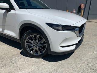 2020 Mazda CX-5 KF4W2A Akera SKYACTIV-Drive i-ACTIV AWD Snowflake White 6 Speed Sports Automatic.