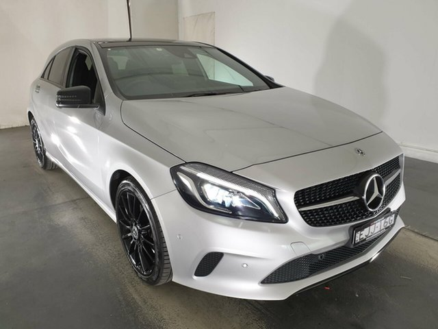 Used Mercedes-Benz A-Class W176 808+058MY A180 D-CT, 2018 Mercedes-Benz A-Class W176 808+058MY A180 D-CT Silver 7 Speed Sports Automatic Dual Clutch