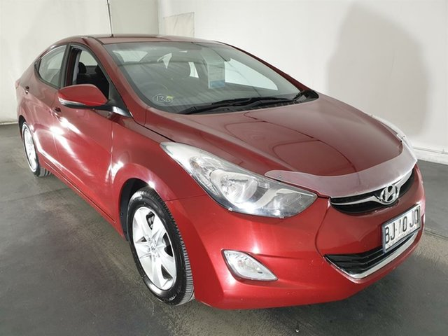 Used Hyundai Elantra MD Elite, 2011 Hyundai Elantra MD Elite Red 6 Speed Sports Automatic Sedan