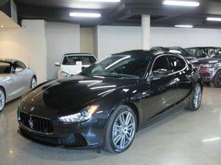 2016 Maserati Ghibli M157 MY16 Black 8 Speed Sports Automatic Sedan.