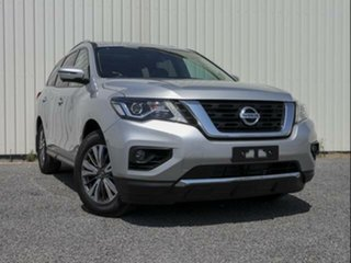 2019 Nissan Pathfinder R52 MY19 Series III ST-L (2WD) Brilliant Silver Continuous Variable Wagon.