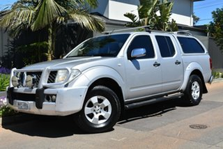 2006 Nissan Navara D40 ST-X Silver 6 Speed Manual Utility.