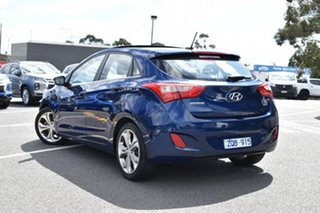 2013 Hyundai i30 GD Premium Blue 6 Speed Sports Automatic Hatchback.