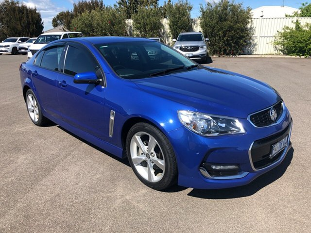 Used Holden Commodore VF MY15 SV6, 2015 Holden Commodore VF MY15 SV6 Slipstream Blue 6 Speed Sports Automatic Sedan