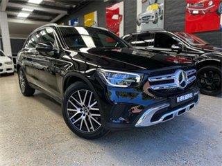 2020 Mercedes-Benz GLC-Class X253 GLC200 Black Sports Automatic Wagon.
