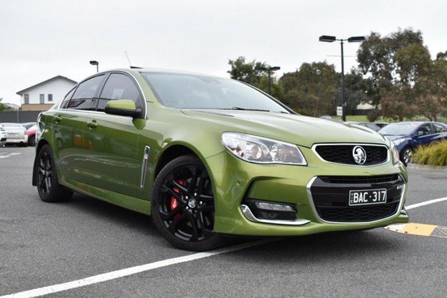 Used Holden Commodore VF II MY16 SS V Redline, 2016 Holden Commodore VF II MY16 SS V Redline Green 6 Speed Sports Automatic Sedan
