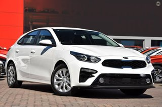 2020 Kia Cerato Hatch S Snow White Pearl Sports Automatic Hatchback