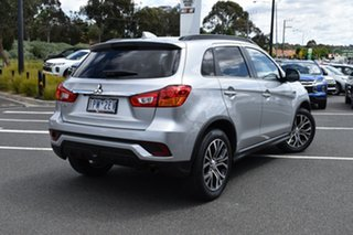 2019 Mitsubishi ASX XC MY19 LS 2WD Sterling Silver/blk 6 Speed Constant Variable Wagon