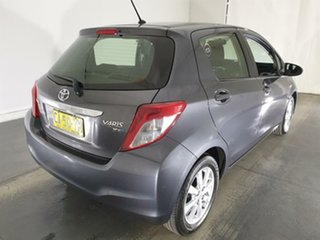 2014 Toyota Yaris NCP131R YRX Grey 4 Speed Automatic Hatchback