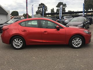 2016 Mazda 3 BM5278 Maxx SKYACTIV-Drive Red 6 Speed Sports Automatic Sedan.