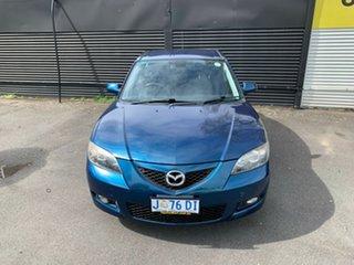 2007 Mazda 3 BK10F2 MZR-CD Blue 6 Speed Manual Sedan.