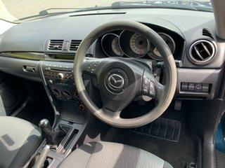 2007 Mazda 3 BK10F2 MZR-CD Blue 6 Speed Manual Sedan