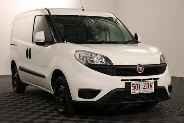 Used Fiat Doblo 263 Series 1 Low Roof SWB Comfort-matic, 2018 Fiat Doblo 263 Series 1 Low Roof SWB Comfort-matic White 5 speed Automatic Van