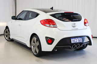 2013 Hyundai Veloster FS2 SR Coupe Turbo White 6 Speed Manual Hatchback.