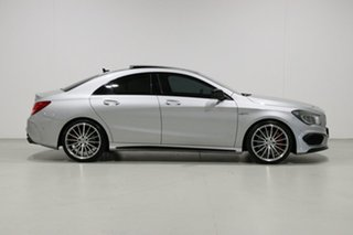 2015 Mercedes-Benz CLA45 117 MY15 AMG Silver 7 Speed Automatic Coupe