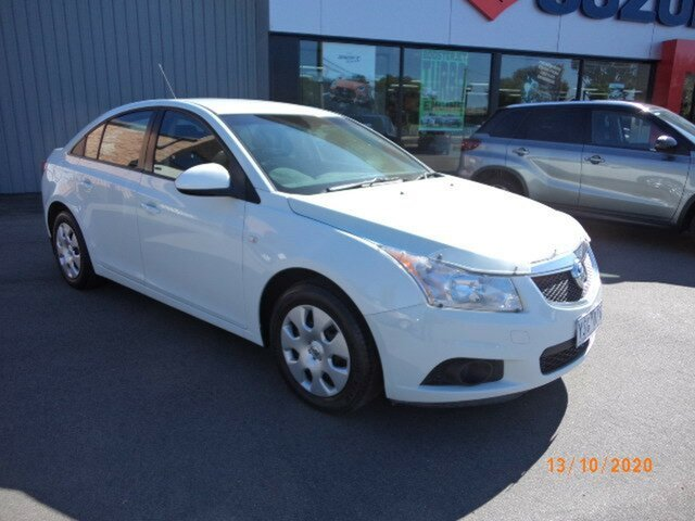 Used Holden Cruze JG CD Wagga Wagga, 2011 Holden Cruze JG CD Heron White 6 Speed Automatic Sedan