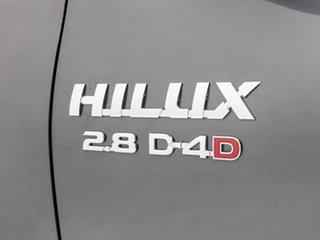 2018 Toyota Hilux GUN126R MY19 SR5 (4x4) Grey 6 Speed Manual Double Cab Pick Up
