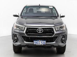 2018 Toyota Hilux GUN126R MY19 SR5 (4x4) Grey 6 Speed Manual Double Cab Pick Up.