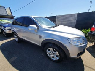 2009 Holden Captiva CG MY09.5 CX AWD Silver 5 Speed Sports Automatic Wagon.