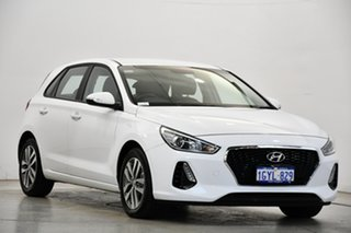 2019 Hyundai i30 PD2 MY19 Active Polar White 6 Speed Sports Automatic Hatchback